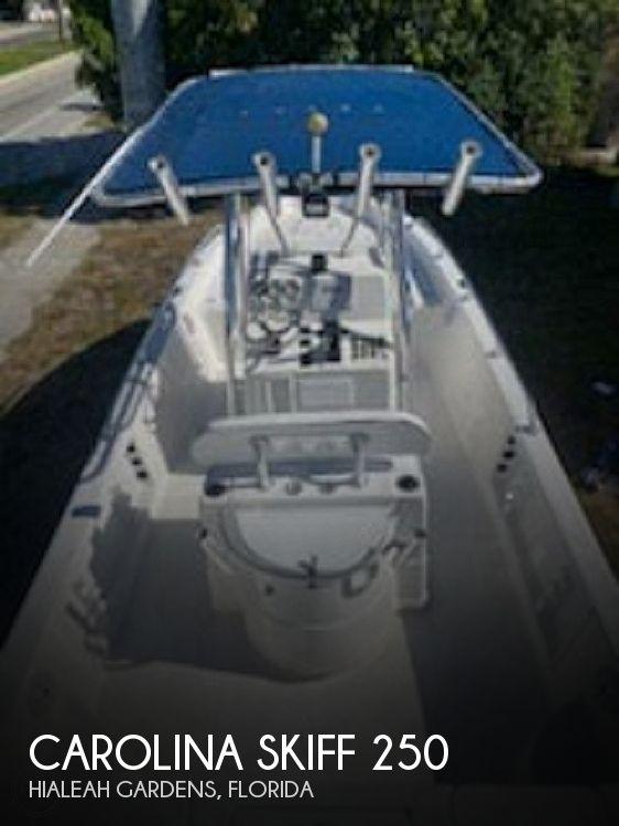 2009 Carolina Skiff Sea Chaser 250 LX Bay Runner