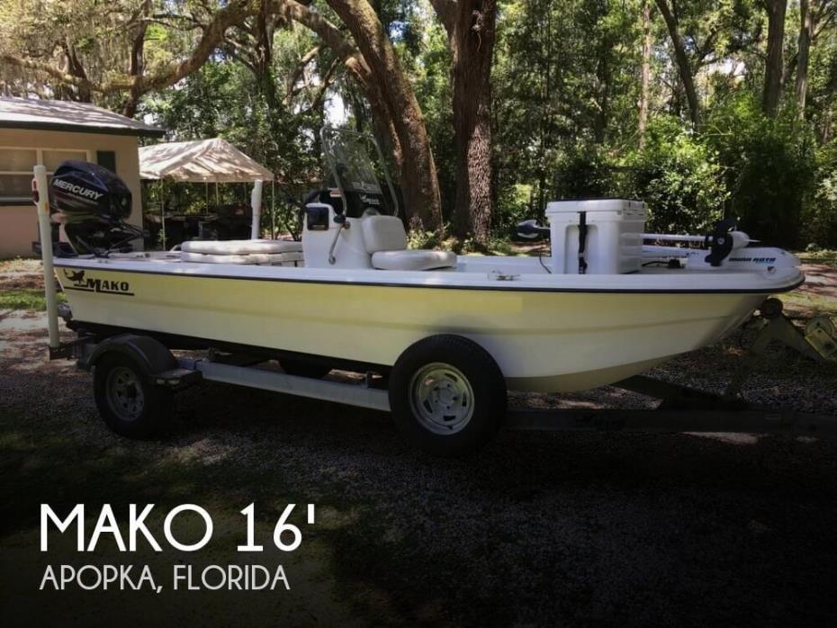 2014 Mako Pro Skiff 16 CC
