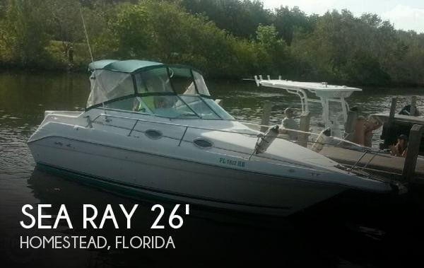 1996 Sea Ray 250 Sundancer