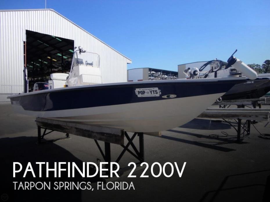 2002 Pathfinder 2200V