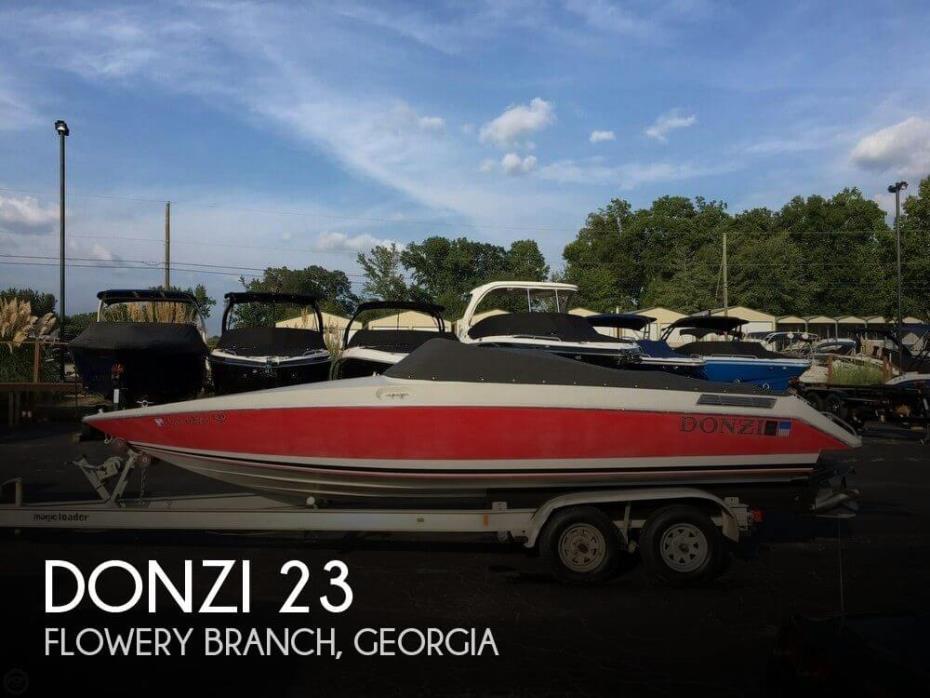 1989 Donzi Regazza R23