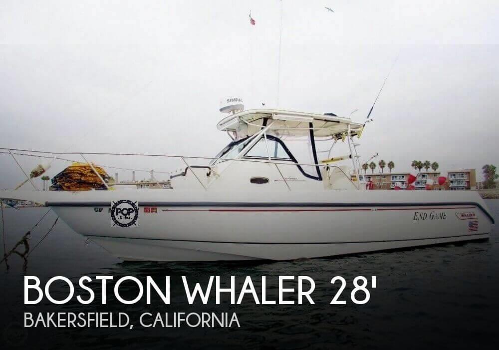 1999 Boston Whaler 28 Outrage CC cuddy