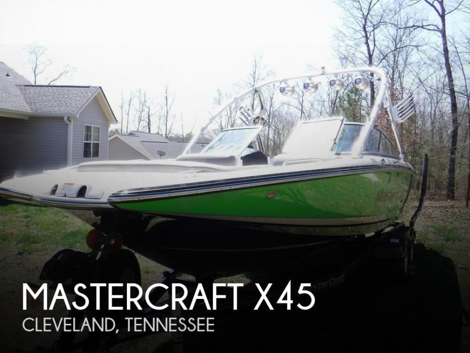 2009 Mastercraft X-45