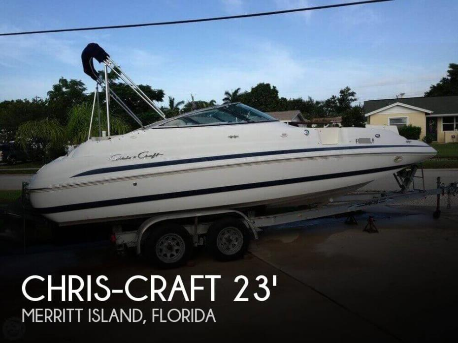 2001 Chris-Craft Sport Deck 232