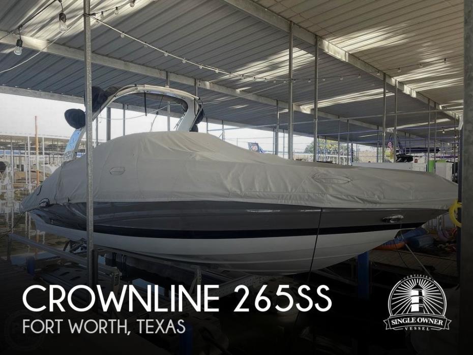 2019 Crownline 265SS