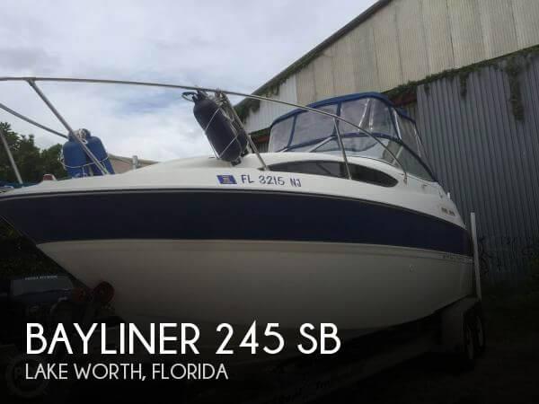 bayliner 245 sb boats for sale rh smartmarineguide com 2006 bayliner 245 owner's manual bayliner 245 owner's manual