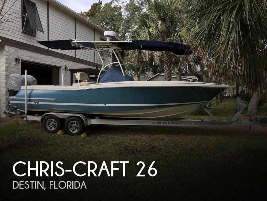 2008 Chris-Craft Catalina Heritage 26