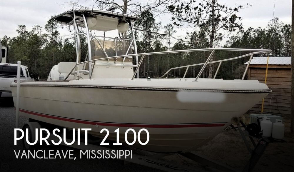 1987 Pursuit 2100