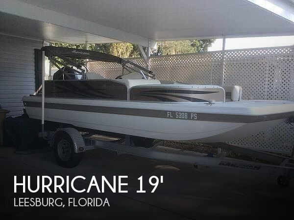 2013 Hurricane 198 Fundeck