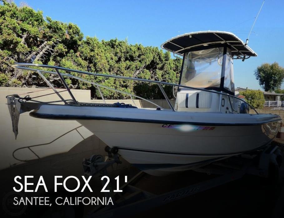 2002 Sea Fox 217 Center Console