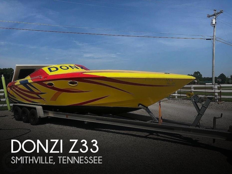 1988 Donzi Z33