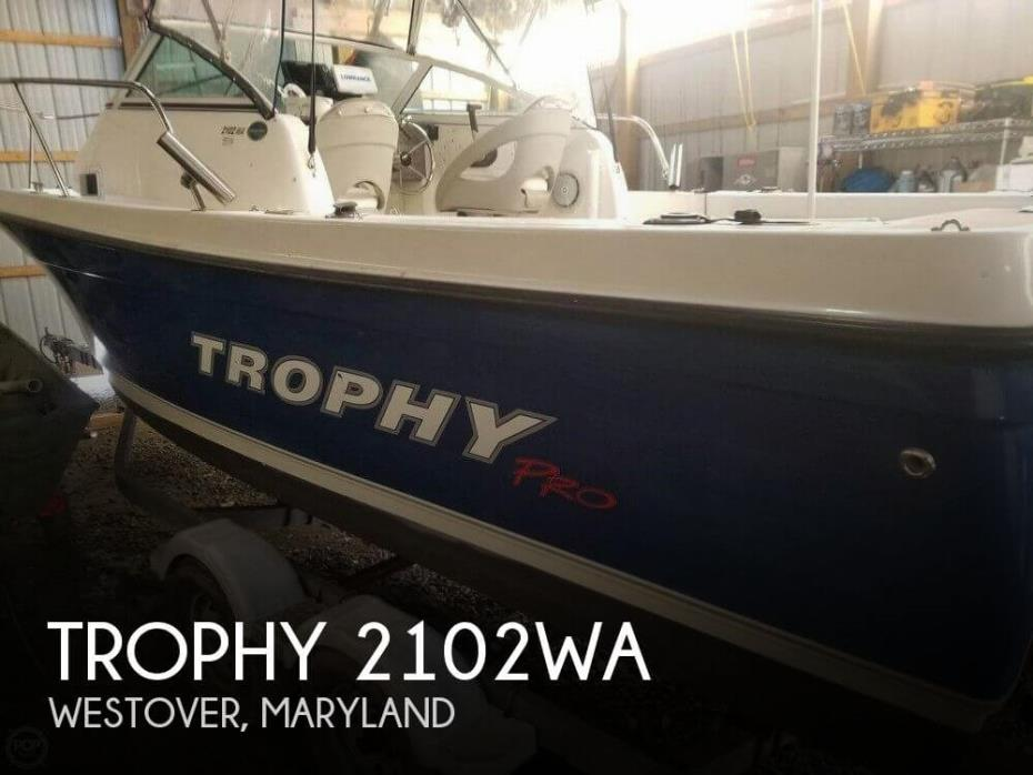 2008 Trophy 2102WA