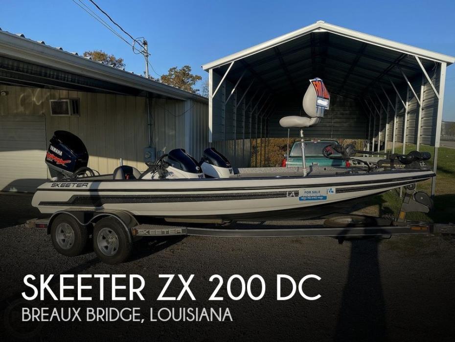 2009 Skeeter ZX 200 DC