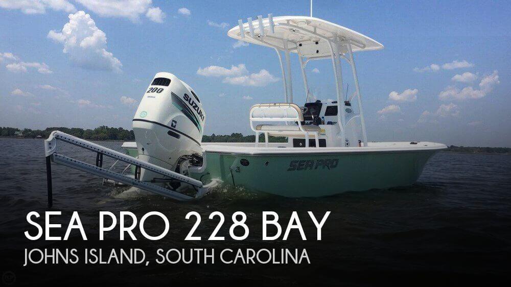 2016 Sea Pro 228 Bay