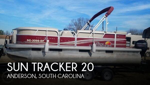 2013 Sun Tracker 20