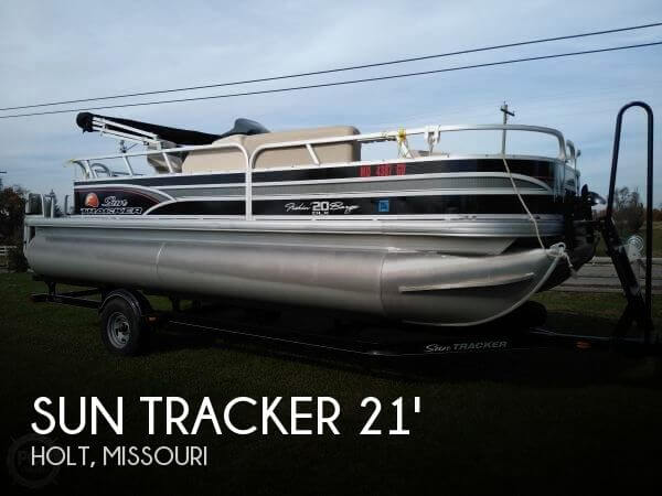 2015 Sun Tracker Fishin Barge 20 DLX Signature