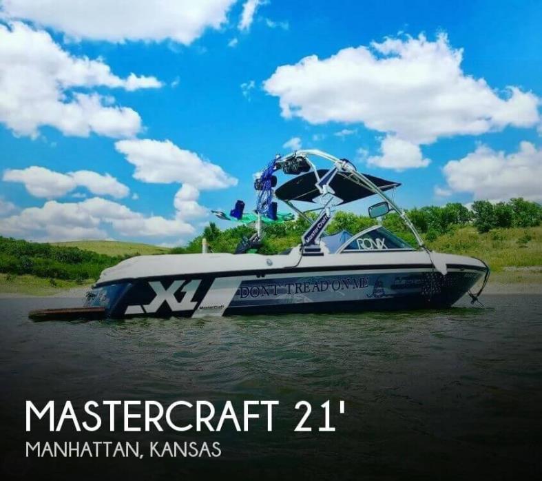 2007 Mastercraft X1 Wakeboard Edition