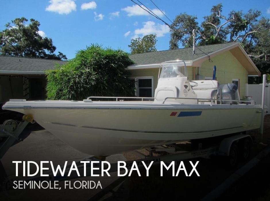 2015 Tidewater 2100 Bay Max