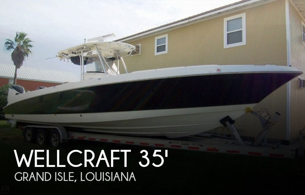 2007 Wellcraft 35 Center Console Scarab