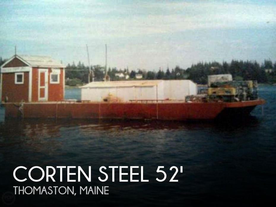 1994 Corten Steel 20' x 52' Barge