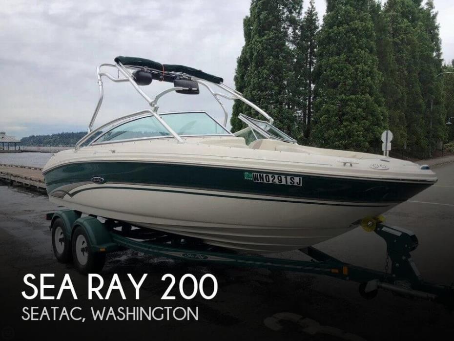 2002 Sea Ray 200 BR