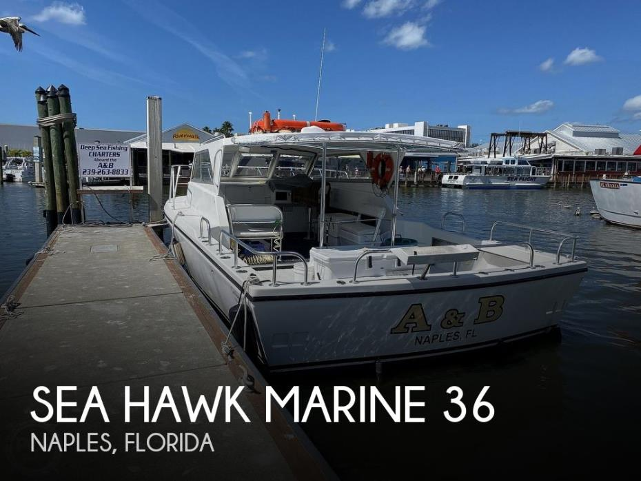 2014 Sea Hawk Marine 36