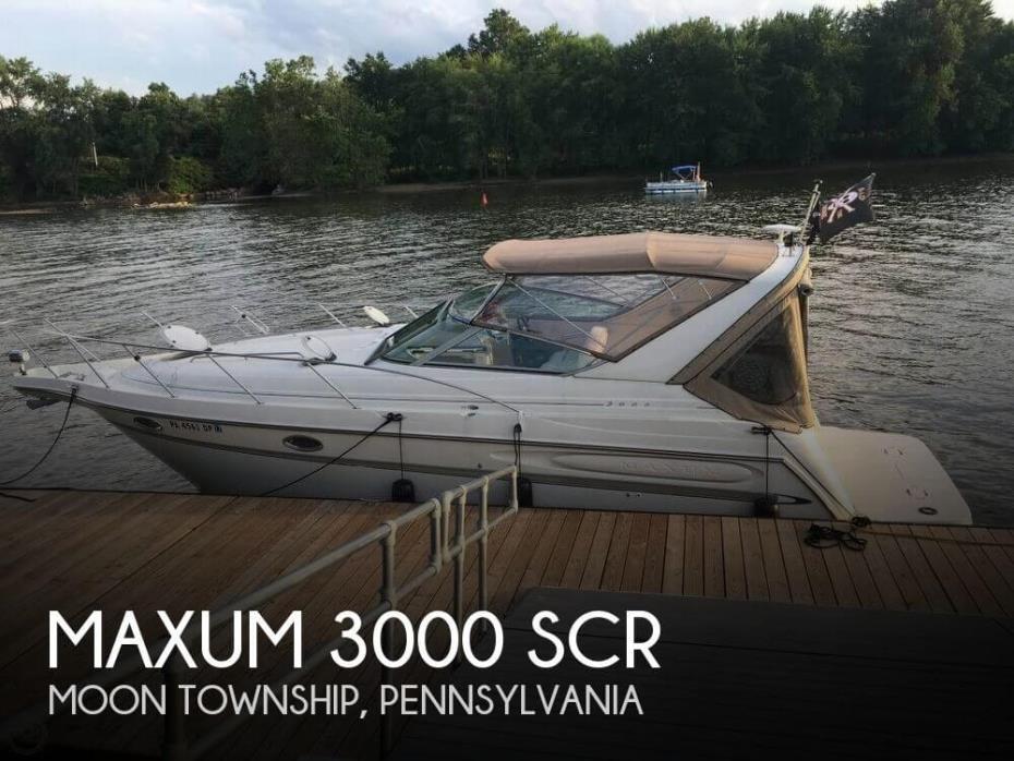 2000 Maxum 3000SCR