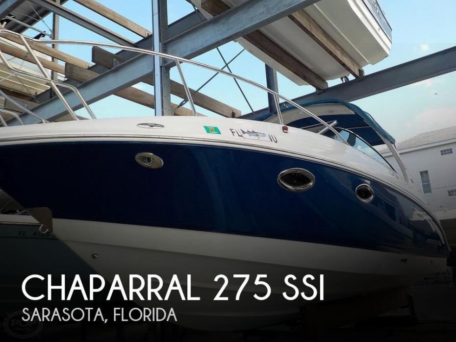2008 Chaparral 275 SSI