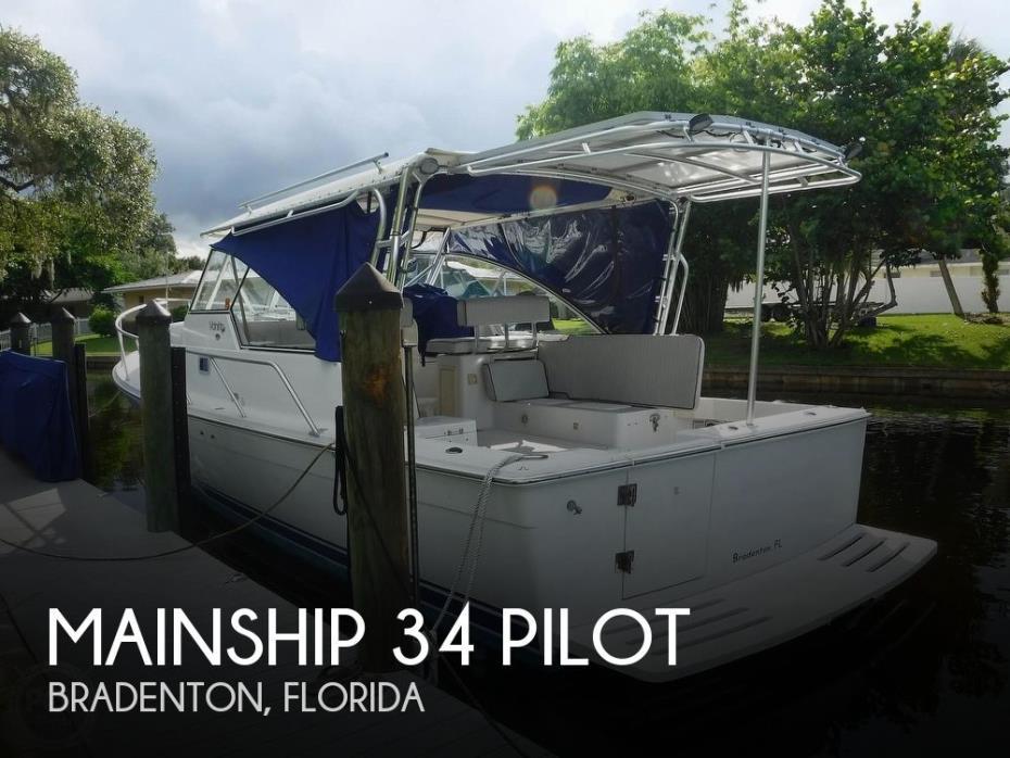 2001 Mainship 34 Pilot