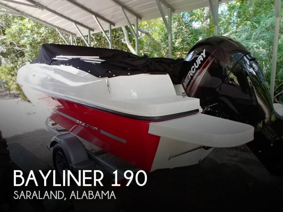 2016 Bayliner 190
