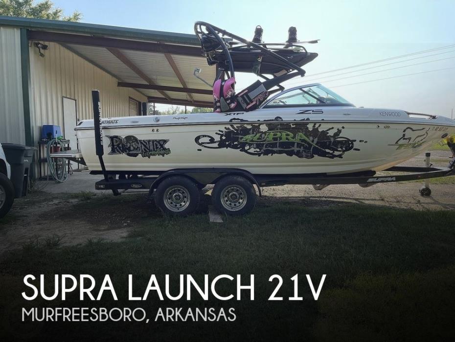 2010 Supra Launch 21V