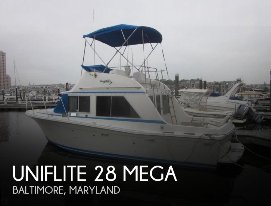 1976 Uniflite 28 Mega