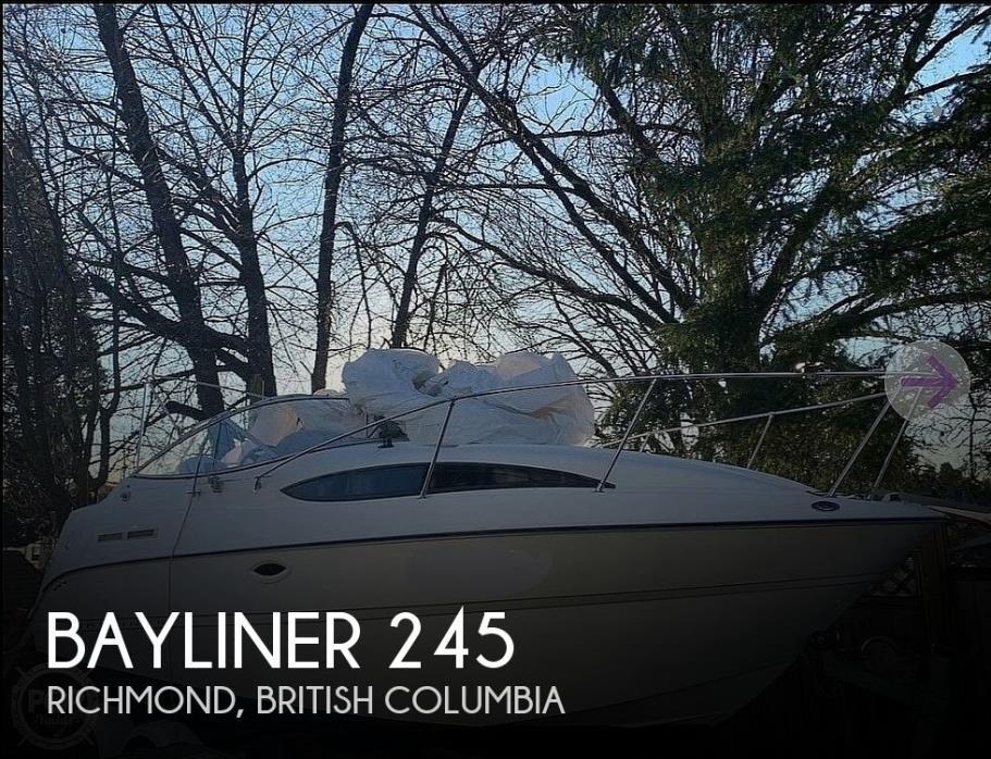 2004 Bayliner 245 Sunbridge