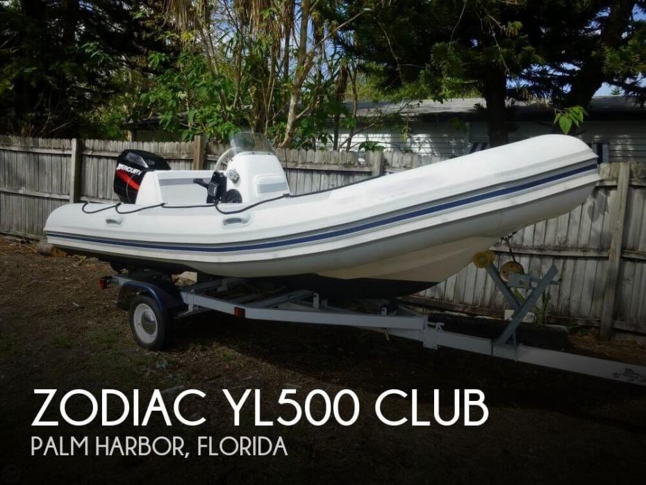 1996 Zodiac YL500 Club