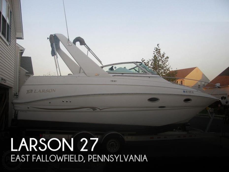 2001 Larson 27