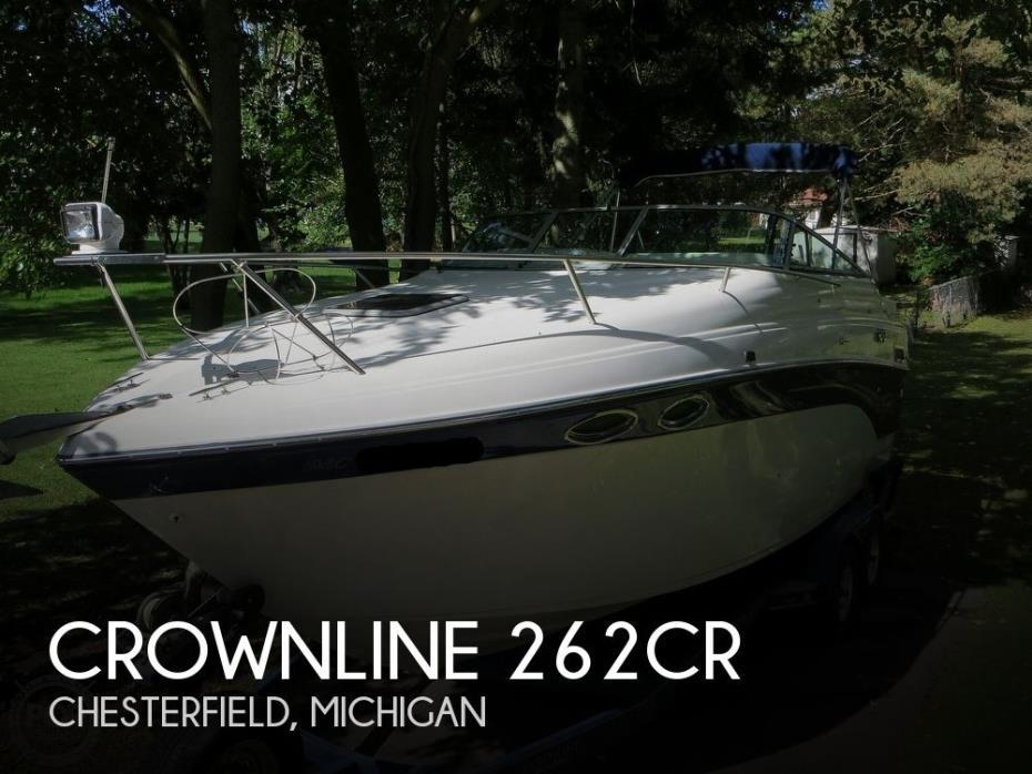 2001 Crownline 262CR