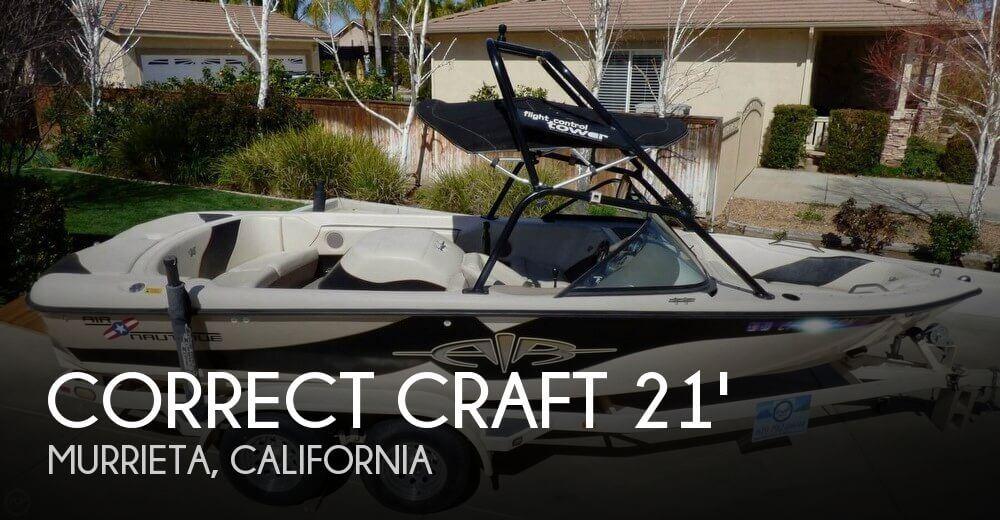 2001 Correct Craft 21 Air Nautique