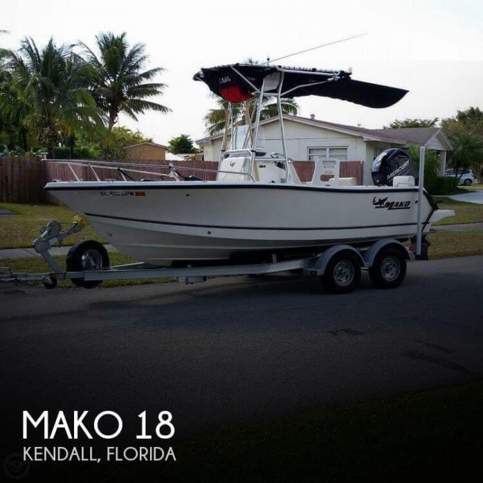 2014 Mako 184 CC