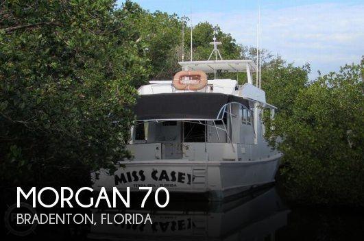 1982 Morgan 70 Pilothouse Trawler