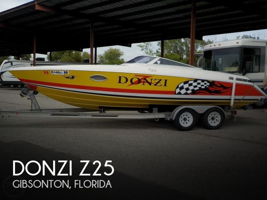 1987 Donzi Z25