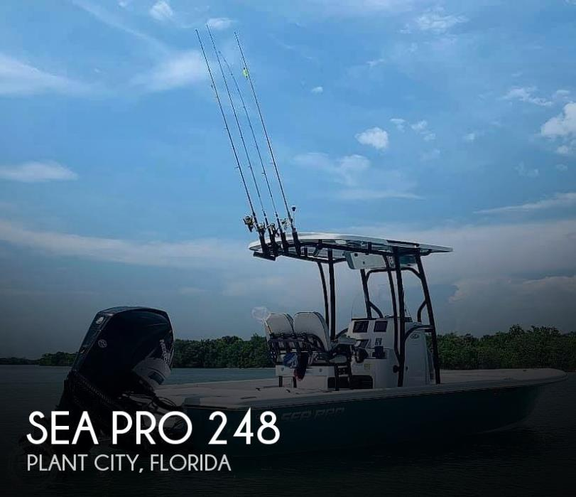 2019 Sea Pro 248 Bay