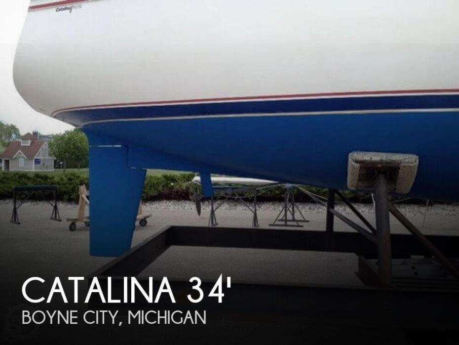 1987 Catalina C 34 Tall Rig