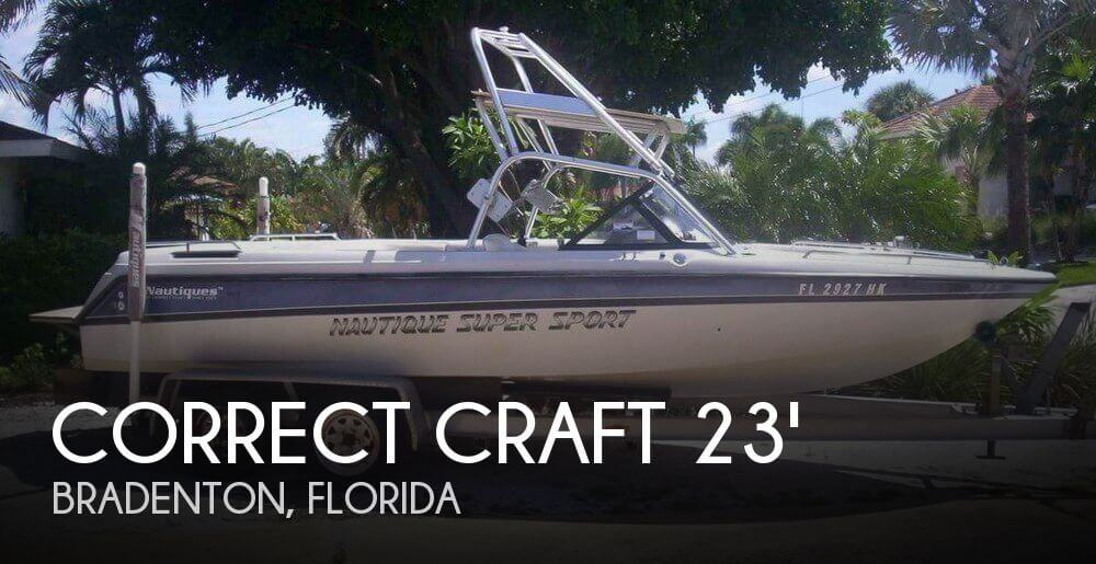 1995 Correct Craft 23 Nautique Super Sport