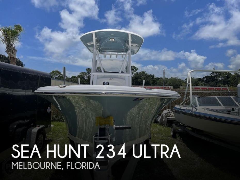 2021 Sea Hunt Ultra 234