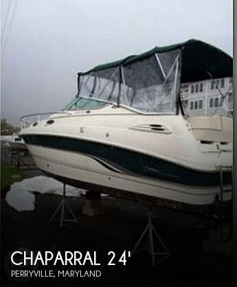 2000 Chaparral 240 Signature