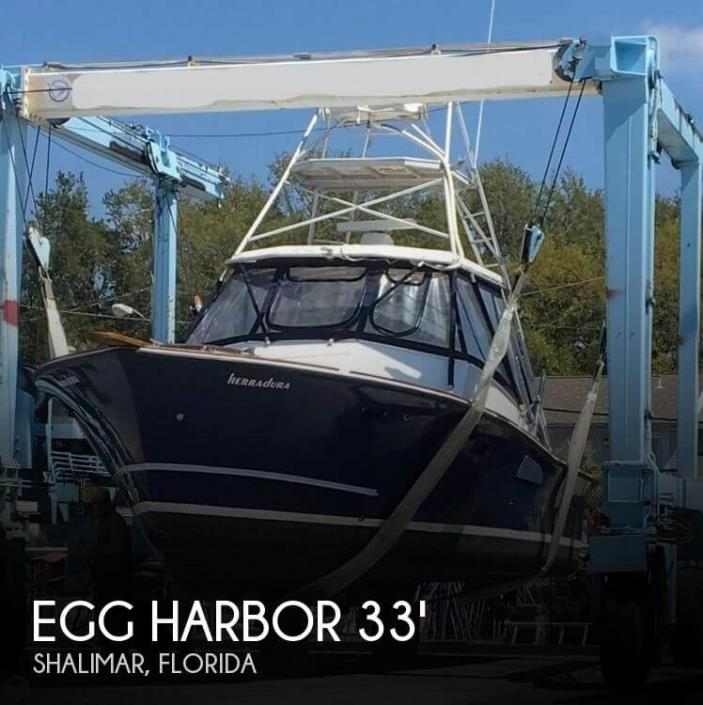 1976 Egg Harbor 33 Sport Fish