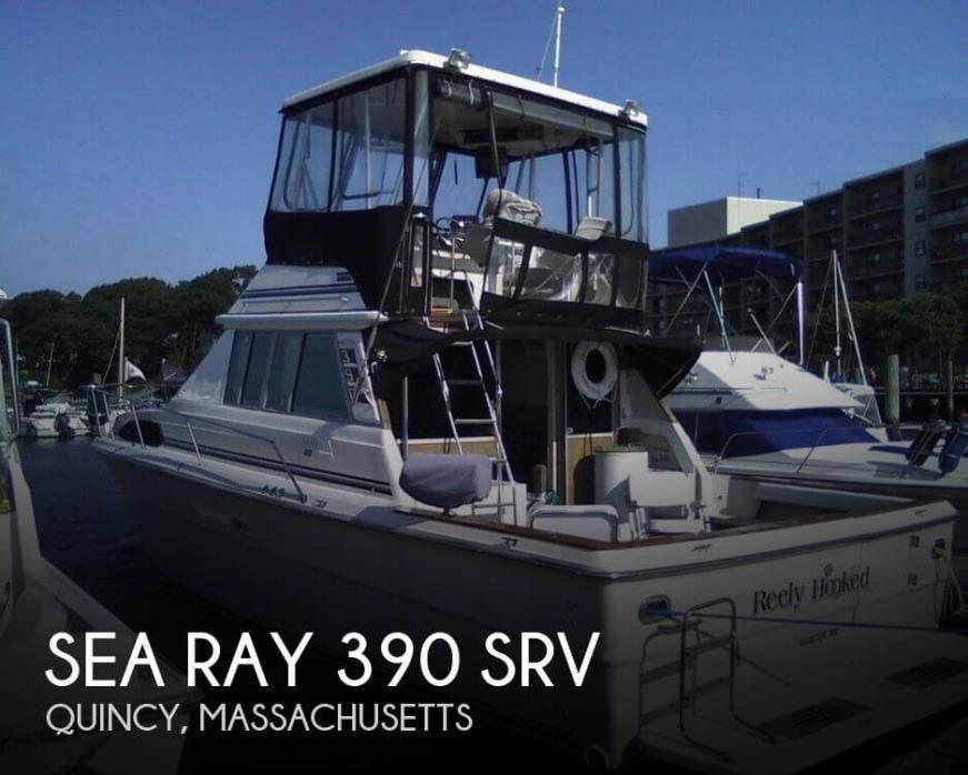 1986 Sea Ray 390 SRV