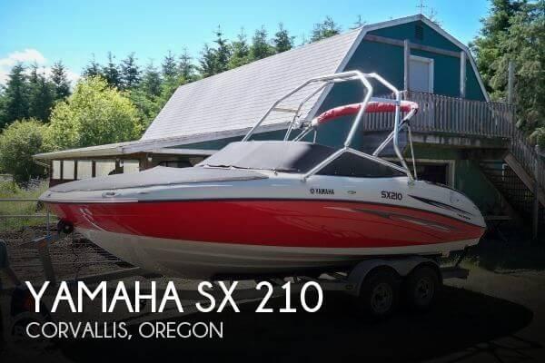 2007 Yamaha SX 210