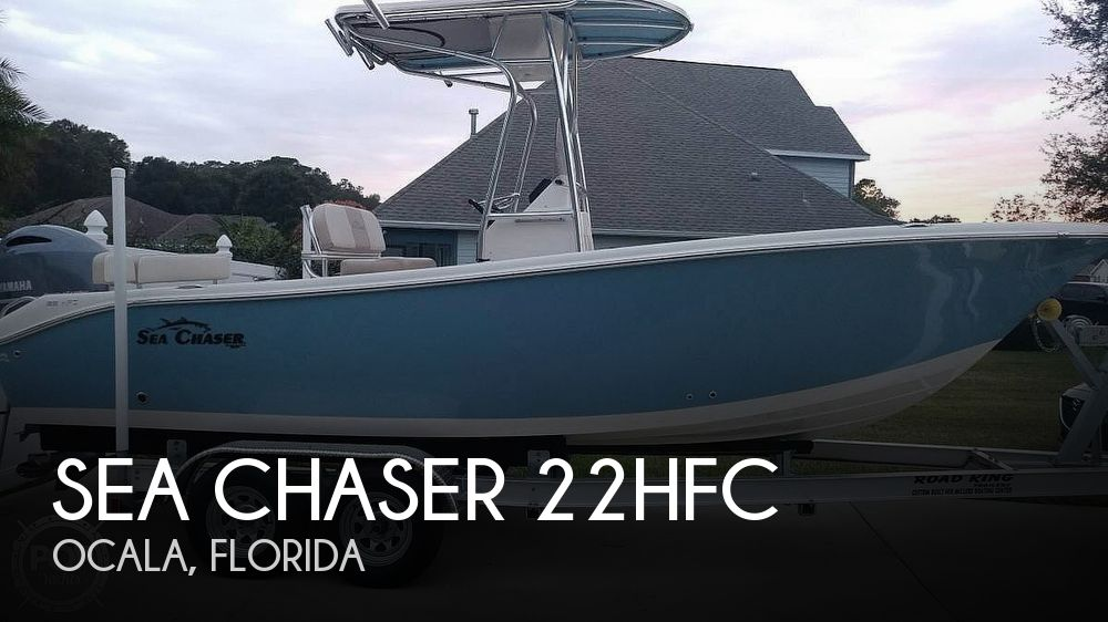 2016 Sea Chaser 22HFC