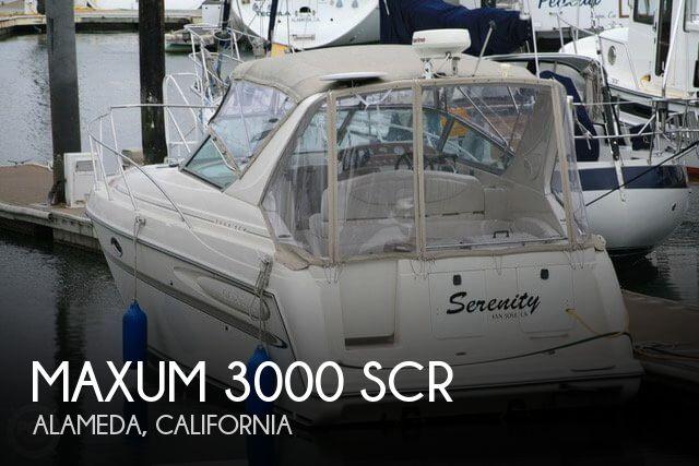 2001 Maxum 3000 SCR